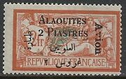 Alaouites Stamps 1925 Yv Airmail 4b Error Mlh Vf
