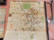 Rare 1970s 27 X 30 Cross And Brown Real Estate Nyc New York City Map