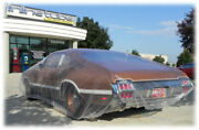 Oldsmobile 442 W-30 Buick Gs Gn Plastic Car Cover Dust Cover Rain Cover 2 Pc