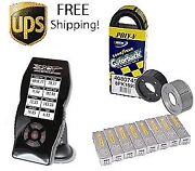 Blower Pulley + Sct X4 7015 Stage 1 Power Package 03-04 Svt Mustang Cobra And Tune