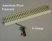 Lionel American Flyer Fastrack 10 Terminal Straight Track S Gauge Train 6-49854