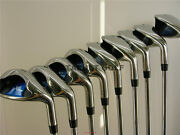 +2 Xl Xxl Big Tall Left Handed Wide Giant Lefty Lh Iron Set Golf Clubs Irons Nr