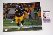 Pittsburgh Steelers Jarvis Jones Signed 11x14 Action Photo Jsa Cert Free Ship