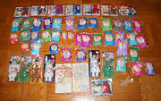 Huge Lot Of Mixed 50 Mcdonald's Beanie Baby Happy Meal Toys 1990s Ty And Bags Rare