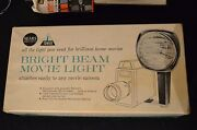 Vintage Sears Bright Beam Movie Light - Attaches To Any Movie Camera 650-watt