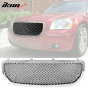 Fits 05-07 Dodge Magnum Mesh Style Front Grill Grille Chrome - Abs