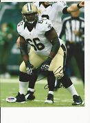 Ben Grubbs New Orleans Saints Hand Signed Color 8x10 Psa V67775