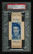 Psa 8 Judy Garland 1947 Turf Cigarette Card 3 Complete With Tabs None Higher