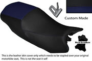 Navy Blue And Black Custom Fits Triumph Sprint Gt 1050 10-13 Dual Seat Cover