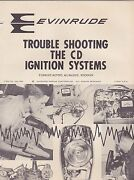 1960s Evinrude Motors Trouble Shooting The Cd Ignition Systems Book