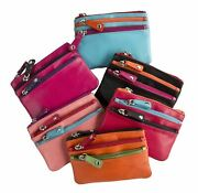 Prime Hide Soft Leather Coin Purse Great Choice- Colourful Coin Purses Style 755