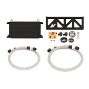 Mishimoto Oil Cooler Kit+thermostatic Plate For 13-20 Subaru Brz/toyota 86/frs B
