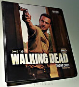 Walking Dead Cryptozoic 2 Ultimate Mini-master And Binder