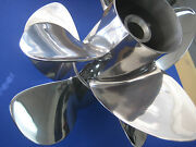 4 By 4 Signature Propellers For Bravo Iii Stainless By Hill Marine 24p