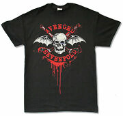 Avenged Sevenfold Game On Canada Tour 2014 Black T Shirt New Official Adult A7x