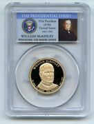 2013 S 1 William Mckinley Dollar Pcgs Pr70dcam