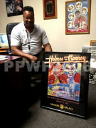 Larry Holmes And Gerry Cooney 1982 Leroy Neiman Signed Poster With Proof Coa