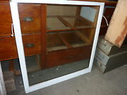 C1900 Antique Single Pane Window Salvaged From Local Victorian Home 40 X 40.5