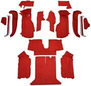 Carpet Kit For 1992-1993 Chevy Corvette Coupe Complete Kit With 1 Latch Cutout