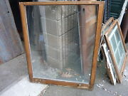 C1900 Antique Single Pane Window Salvaged From Local Victorian Home 34 X 41