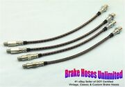 Stainless Brake Hose Set Cadillac Series 60 Special 1961 1962 1963 1964