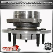 97-00 Ford F150 Front Wheel Hubs Bearings 4wd 4x4 5 Lugs Non-abs 12mm Lugs