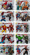 Marvel Now 2014 Then And Now Complete 10 Card Chase Set