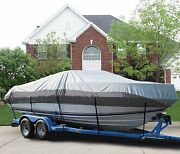 Great Boat Cover Fits Lund 1775 Pro-v Dlx Side Console Ptm O/b 1992-1994
