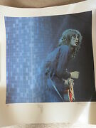 Jimmy Page Signed Lithograph Print + Roger Epperson Full Coa Led Zeppelin Rare
