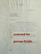 John Hay Whitney - Letter - 1935 - Signed - Cukor - David O. Selznick - Gwtw