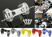 Handlebar Handle Bar Risers Clamp For 2013-2018 Bmw R1200gs Adv Lc Water-cooled