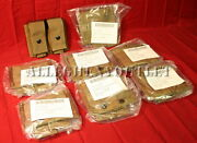 Lot Of 8 Usgi Usmc 40mm Double Mag He High Explosive Grenade Pouch Coyote New