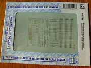 Microscale Decal N 60-241 Southern Pacific Heavyweight Passenger Cars 1920-19