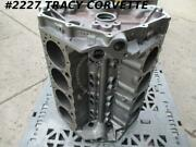 1962-1963 Chevrolet 327 Bare Block Gm 3782870 1962 Dated Corvette