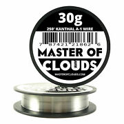 250 Ft - 30 Gauge Awg A1 Kanthal Round Wire 0.25mm Resistance A-1 30g Ga 250and039