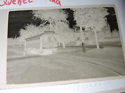 Org 1949 Montreal Southern Counties Quebec Canada 2.5x3.5 Trolley Photo Negative
