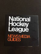 1984 - 1985 National Hockey League Nhl Media Guides And Binder