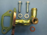 Porsche 924s 944 Water Neck Adapter For Thermo Valve Rear Cylinder Head Genuine