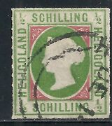 Helgoland Stamps 1867 Mi 1 Canc F/vf