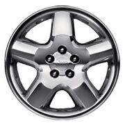 07-16 Jeep Compass New Chrome Clad Aluminum Wheel 18x7 Set Of 4 Mopar Oem
