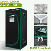 Mars Hydro 2' X 2' X 5' Indoor Grow Tent Room Box For Indoor Plant Home Small