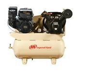 Ingersoll Rand Irr 2475f14g Two-stage Gas Drive Compressor Package 14hp Kohler