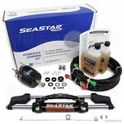 Seastar Pro Hk7500a-3 Hydraulic Steering Kit W/ 24ft Hose Ho5724 Outboard Boat