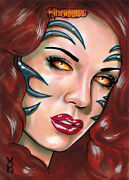 Witchblade 2014 Sketch Card By Veronica O'connell