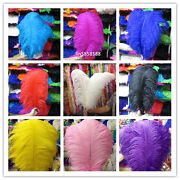 Wholesale 5-200pcs Beautiful Ostrich Feathers 6-28 Inche/15-70cm Free Shipping