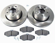 Front Brake Replacement Kit With Genuine Brake Pads For Land Rover Discovery 2