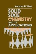 Solid State Chemistry And Its Applications By Alan West English Paperback Book