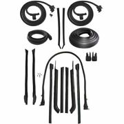 1965 Buick Electra 2dr Convertible Body Weatherstrip Seal Kit 2nd Type