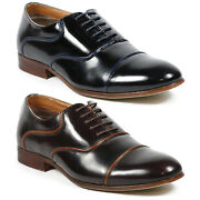 Ferro Aldo Menand039s Lace Up Dress Classic Oxford Shoes W/ Leather Lining Mfa-19328
