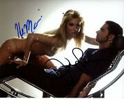Heather Morris And John Stamos Signed Autographed Glee Brittany And Carl Photo